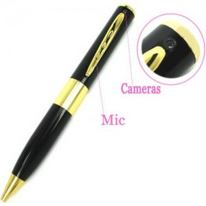 Spy Camera Pen Support Audio + Video Recording with Maximum 8G